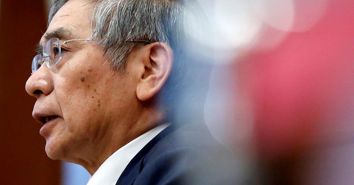日銀総裁、貿易摩擦を楽観視 下振れ意識の政策運営も