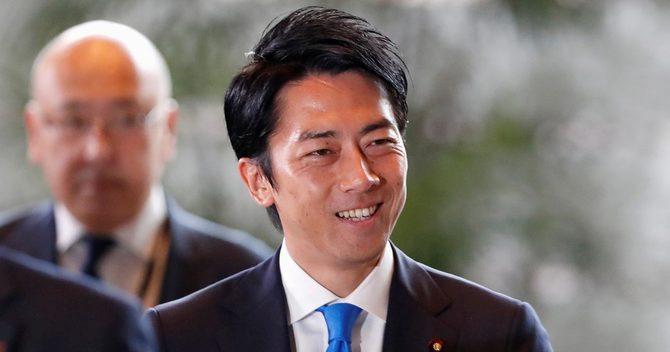 初入閣の小泉進次郎元復興政務官