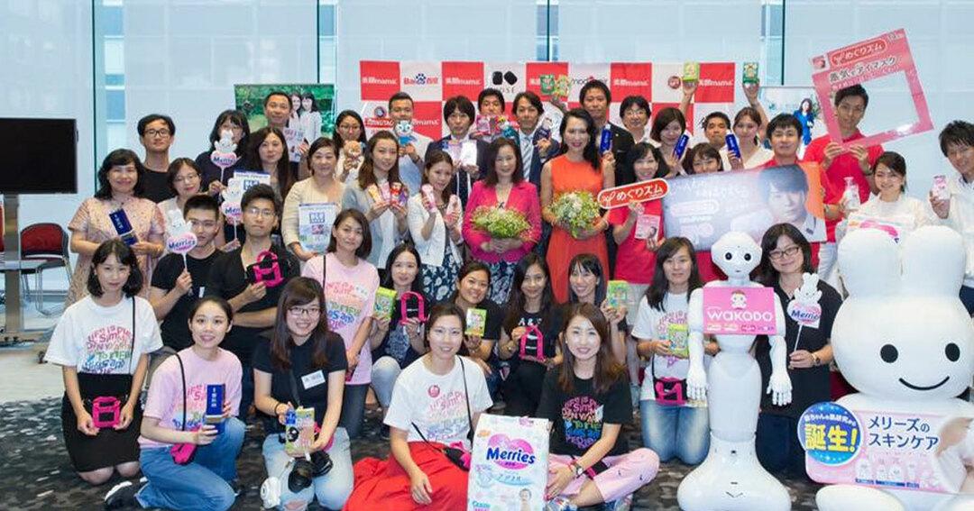 李佳霖さんが代表理事を務める「美ママ協会」が主催する商品展示会