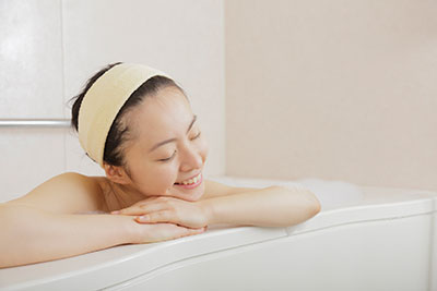 入浴で循環器ケアと 睡眠不足ケアを
