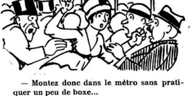 痴漢は100年前のパリにもいて、女性専用車両まで提言されていた