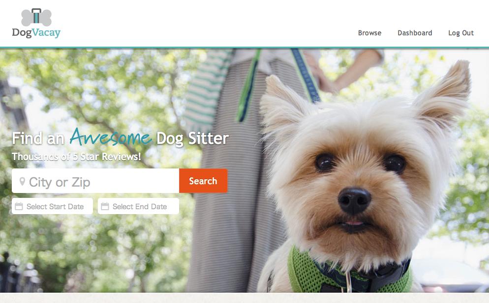 飼い犬とペットシッターをつなぐマーケットプレイス<br />「Dog Vacay」が米国で大人気