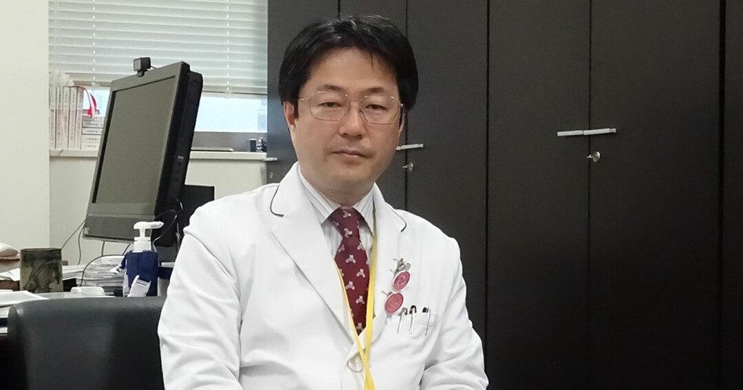 長尾能雅医師(名古屋大学医学部附属病院副院長、医療の質・安全管理部教授)