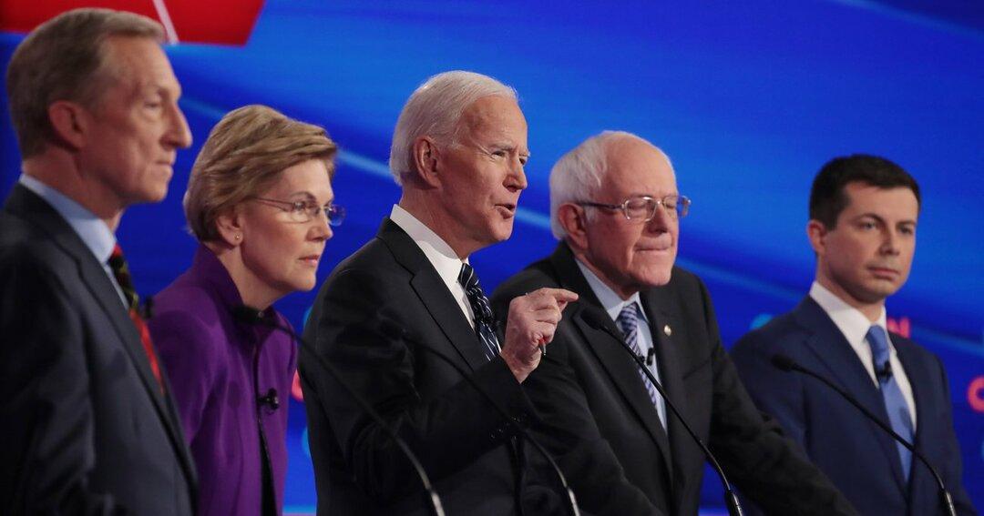 米大統領選民主党候補者