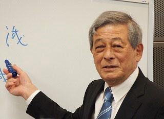 組織革新研究会キャンパスリーダー・藤田英夫