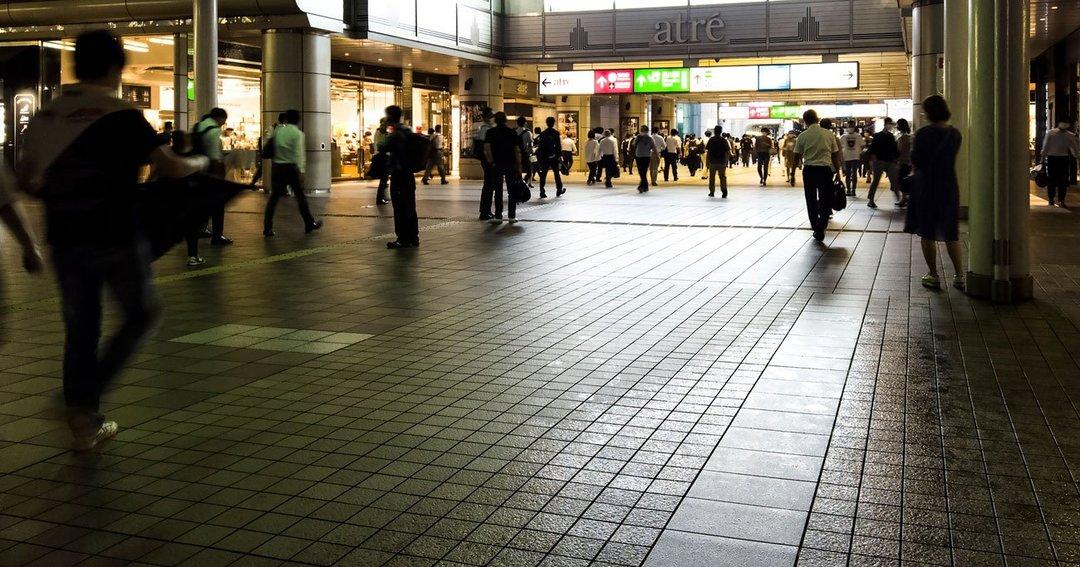 品川駅コンコース