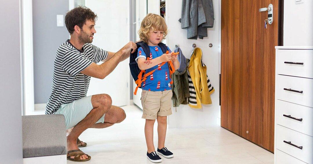 毎朝の登園がスムーズになる!<br />子どもが喜んで出かける<br />超簡単な親の工作とは?