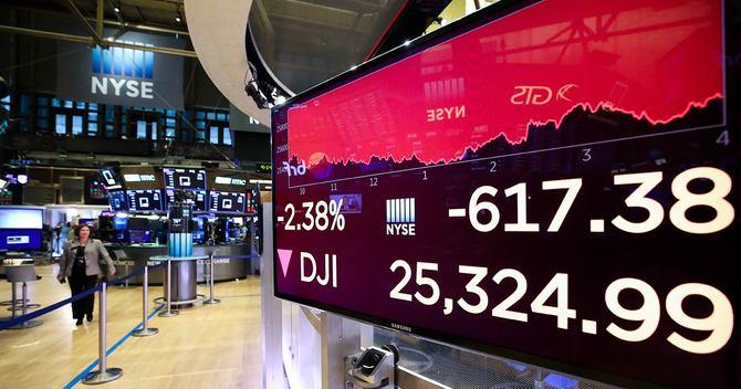 ニューヨーク証券取引所のスクリーン