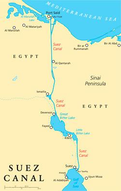 """「第2スエズ運河」開通!<br />エジプト経済再興の陰に""""剛腕大統領""""の存在"""