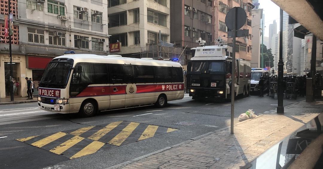 香港の機動部隊