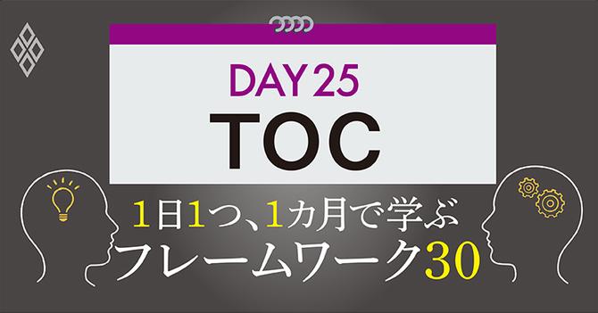 フレームワーク30 DAY25 TOC