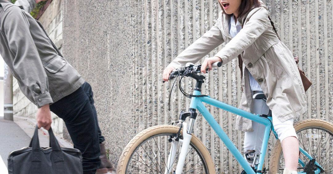 写真:自転車の事故