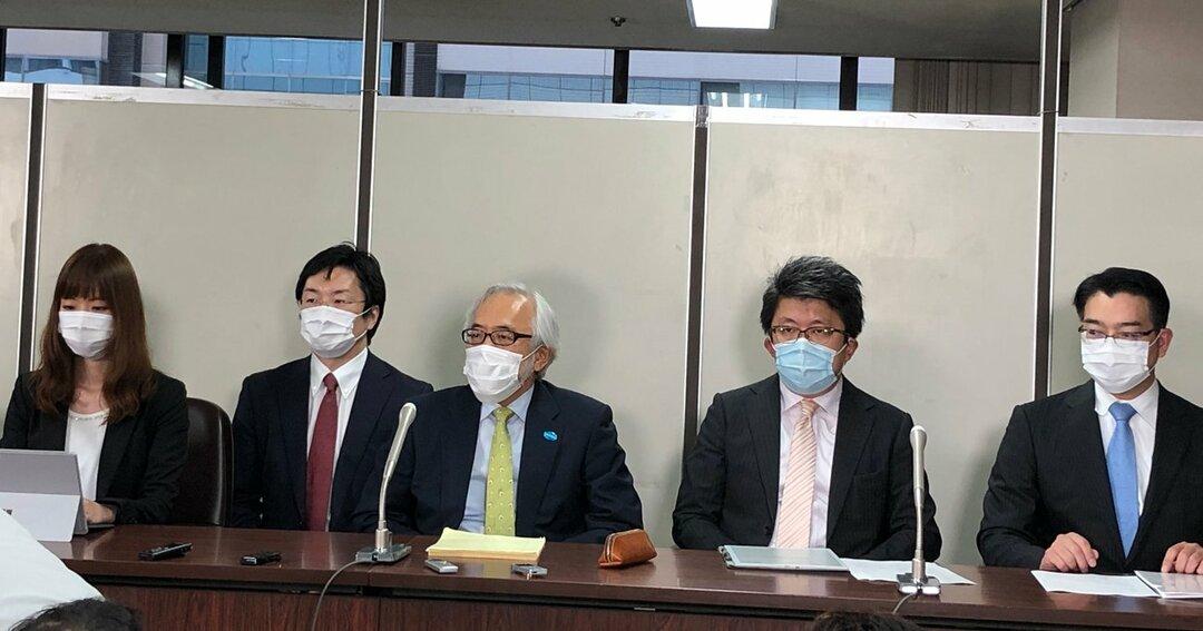 男性乳腺外科医の弁護団