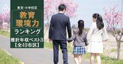 東京・小学校区「教育環境力」ランキング【全49市区・推計年収ベスト3】