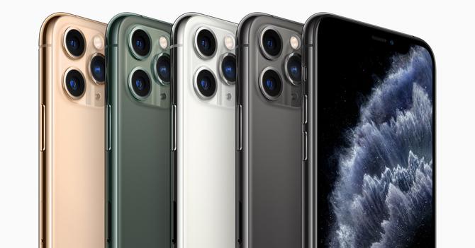 超広角、広角、望遠の3つのカメラを持つ「iPhone 11 Pro」(アップルジャパンのプレスリリースより)