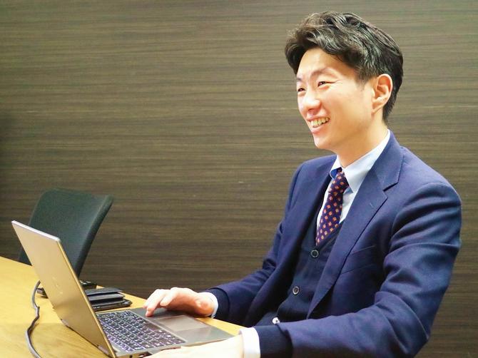 Azoop代表取締役の朴貴頌氏
