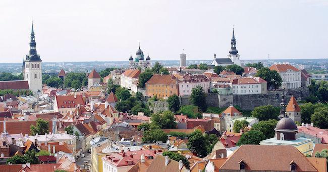 エストニアでは電子政府化が進んでいる