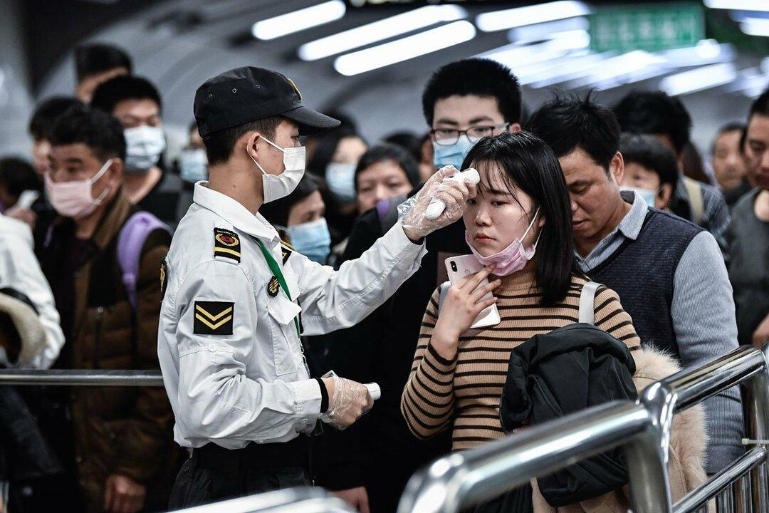 中国では大勢の人が移動する春節の休暇と重なったため、感染拡大が懸念されている