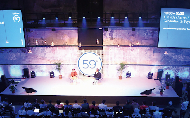 エストニアで起業家のカンファレンス「Latitude59(ラティチュード59)」が開かれ、孫泰蔵氏と、現地で教育分野の変革を促す団体Eesti2.0のCEO、Ede Schank Tamkivi(エデ・シャンク・タムキヴィ)氏との対談が行われました