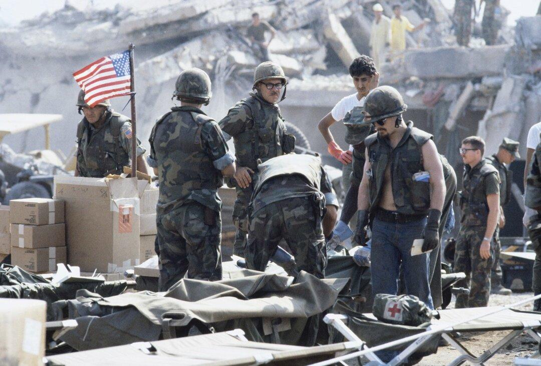 ベイルートでの米海兵隊兵舎爆弾テロ
