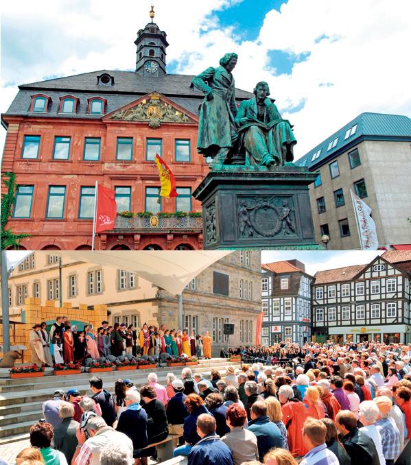 【ドイツ】メルヘン街道 <br />グリム童話が生まれて200年 <br />名作をたどる旅に出よう