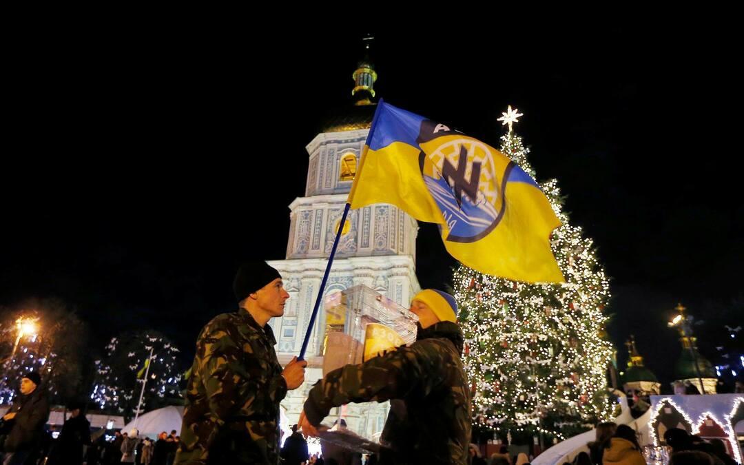 栄華と凋落、混沌が支配したウクライナの1年 <br />原油とルーブル暴落は情勢変化の引き金になるか<br />――ジャーナリスト・仲野博文