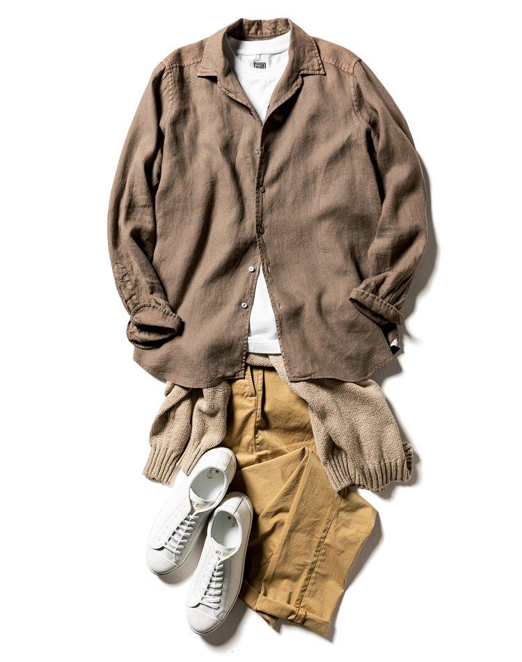 パンツのコーディネートを履きたい靴から逆算