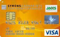 「SYMONS JACCS CARD(サイモンズ ジャックス カード)」の券面デザイン