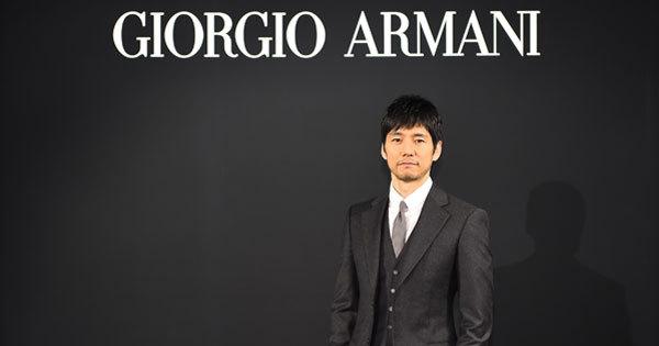 ジョルジオ アルマーニ「Made to Measure」キャンペーンモデルに俳優の西島秀俊を起用
