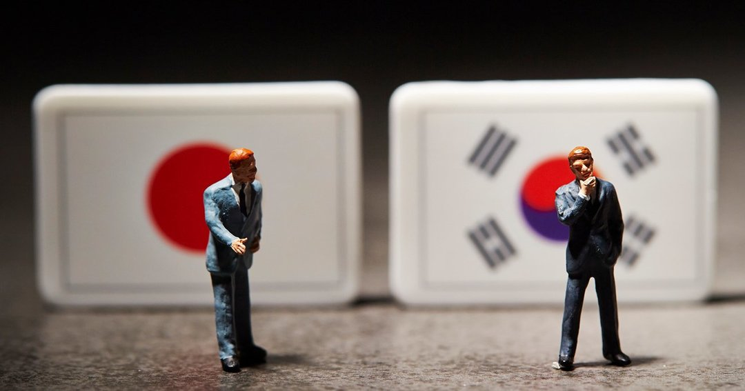 日韓関係の明暗