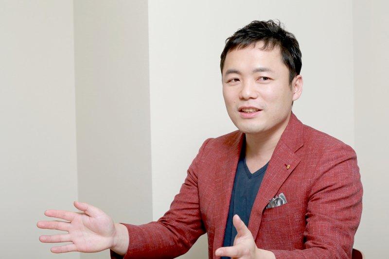 エッグフォワード代表取締役社長の徳谷智史さん