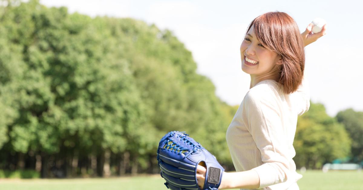 声を出すイメージは、相手に向かってボールを軽く投げるように