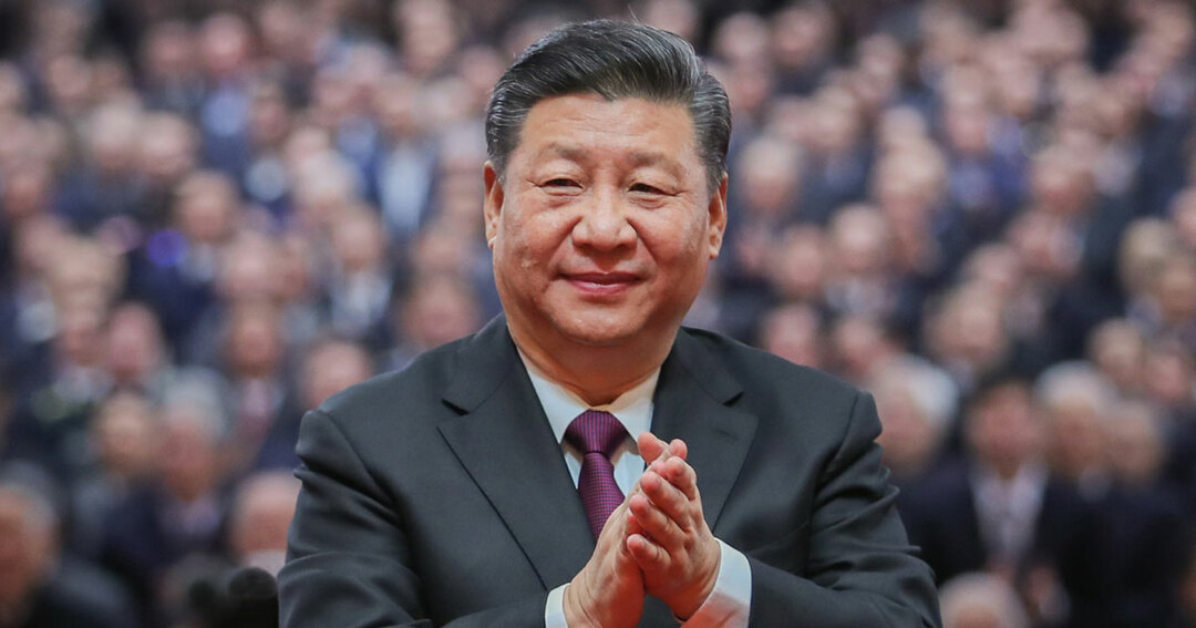 中国の改革開放40年の記念式典で習近平国家主席