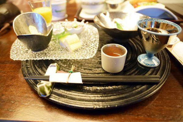 「箱根吟遊」の夕食