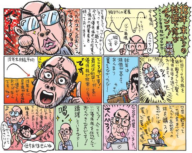 桐谷さんの株主優待マンガ