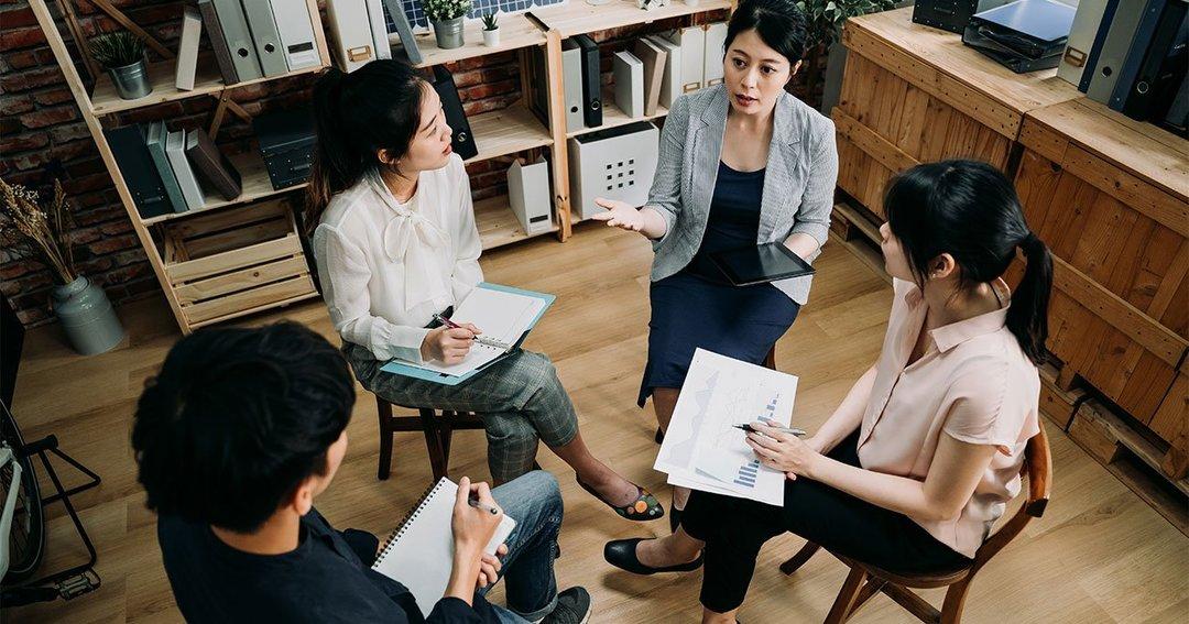 4人で行う対話の方法