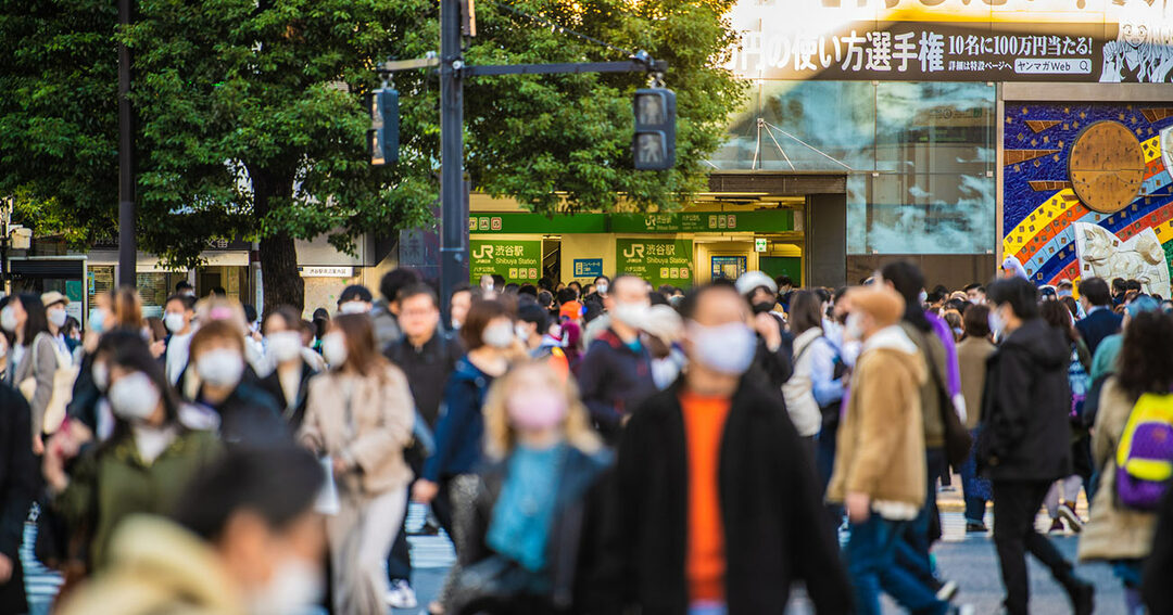 コロナ対策,マスク,東京
