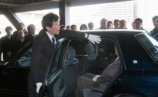 日本交通・黒タクシーに学ぶ「おもてなしの秘密」検証現場⇒日本交通