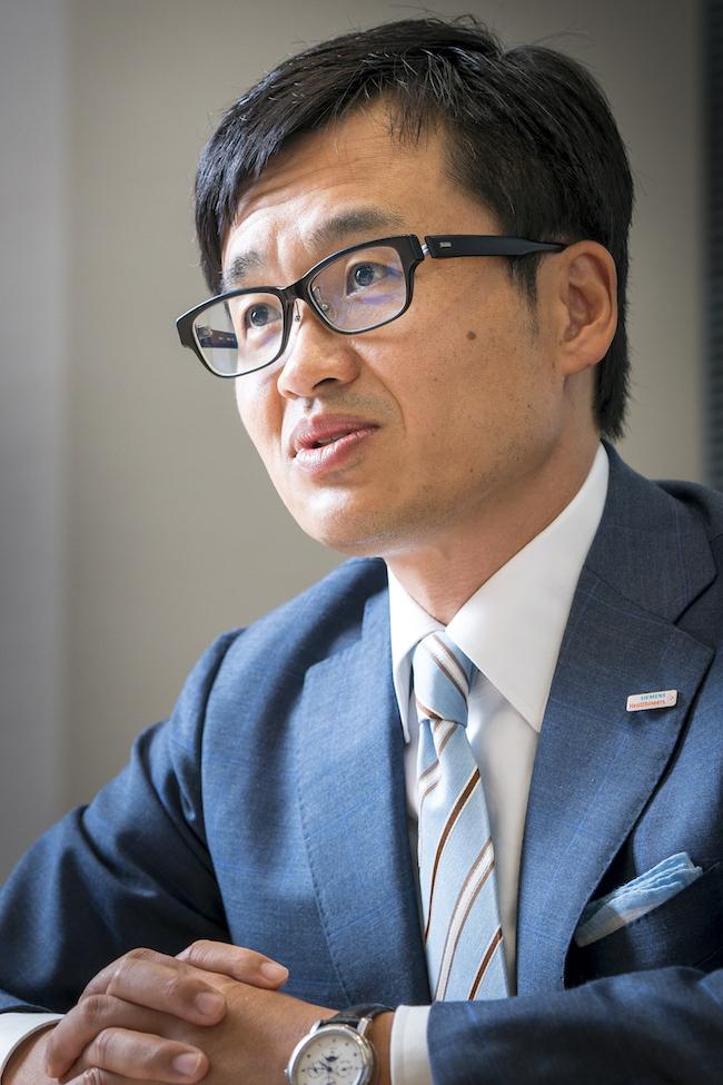 ヘルステックをめぐるM&Aや提携で攻勢をかけていく独シーメンスのヘルスケア事業会社日本法人、シーメンスヘルスケア森秀顕社長兼CEO