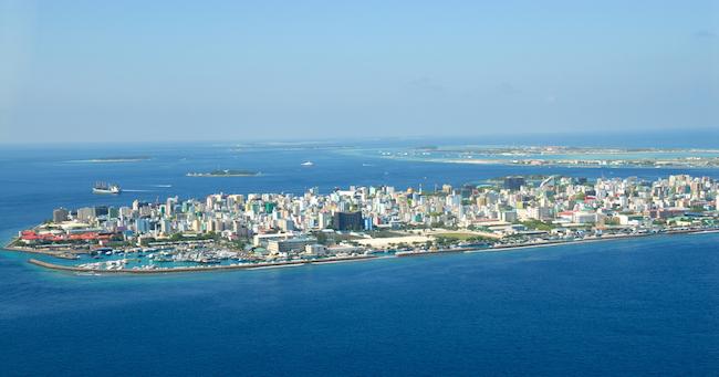モルディブの首都マレ