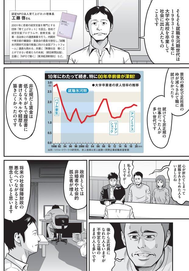 就職氷河期世代への支援が広がる背景は?(2)