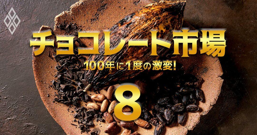 100年に1度の激変!チョコレート市場