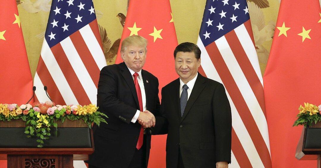 トランプ大統領と習近平国家主席