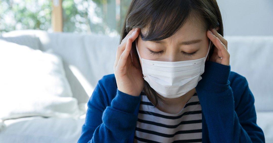 「マスク頭痛」はなぜ起こる? 片頭痛持ちは要注意なワケ