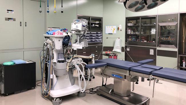 「わいせつ事件」があったとされる病院の手術室