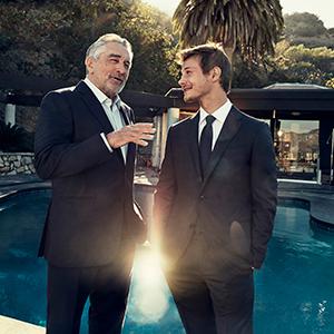 エルメネジルド ゼニアが、名優ロバート・デ・ニーロと映画をつくる