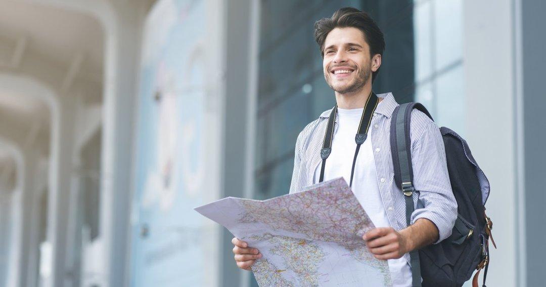 地図をなぞって旅をしよう