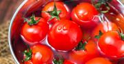 私は絶対、赤いトマトは食べない