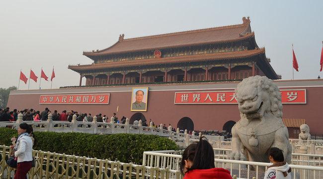 中国の天安門広場