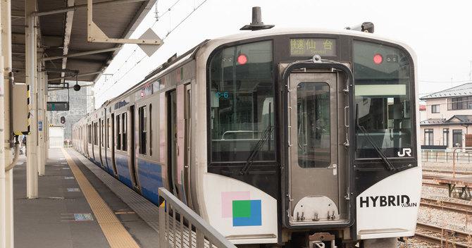 仙石東北ライン(石巻駅)